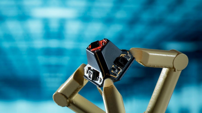 3D-Abstandssensor auf Basis eines räumlichen Schaltungsträgers für Industrie 4.0