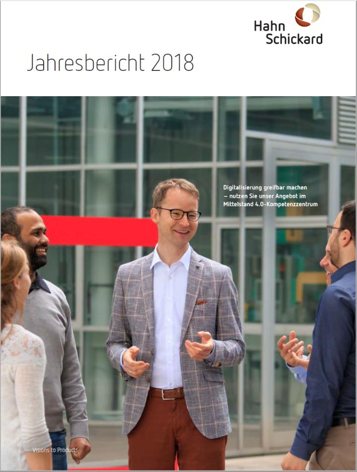 Titelseite des Jahresberichts 2017  (c)