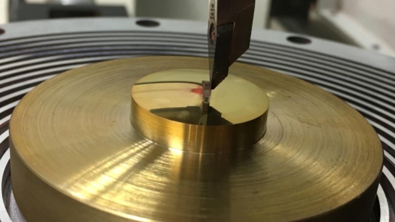 Ultrapräzisionsbearbeitung mit Diamantwerkzeug